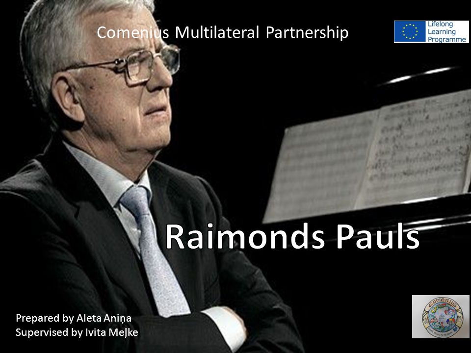 He was born on Januar 12, 1936 in Riga.He's one of all time favourite composers or Latvia.