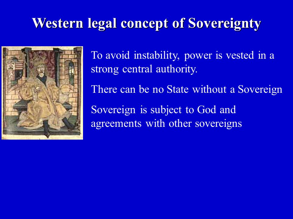 To avoid instability, power is vested in a strong central authority.