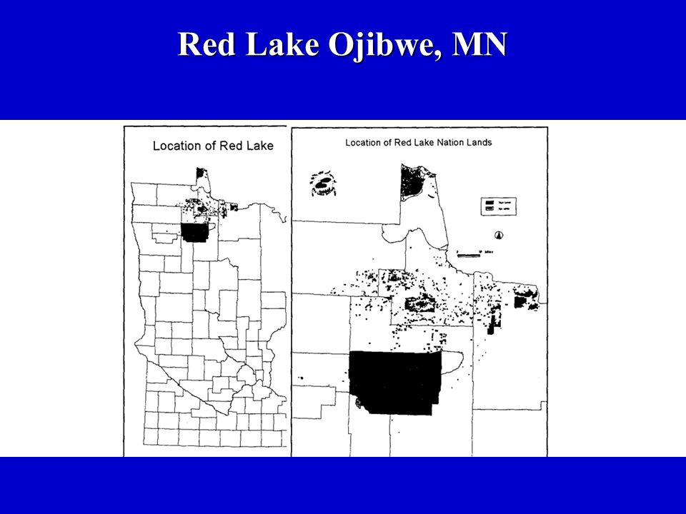 Red Lake Ojibwe, MN