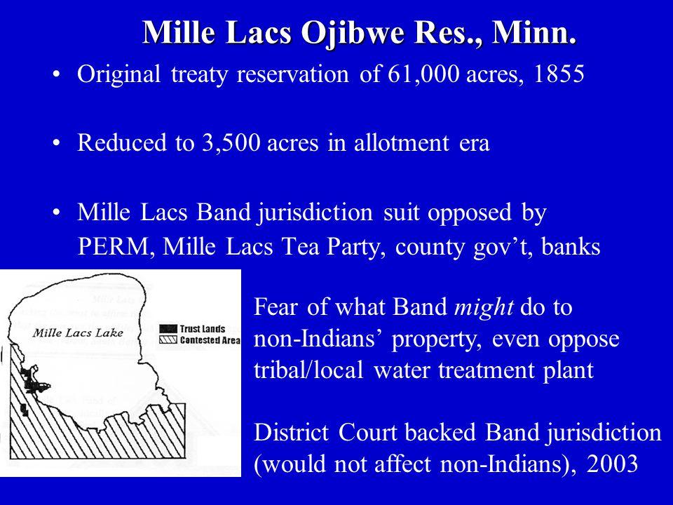 Mille Lacs Ojibwe Res., Minn.