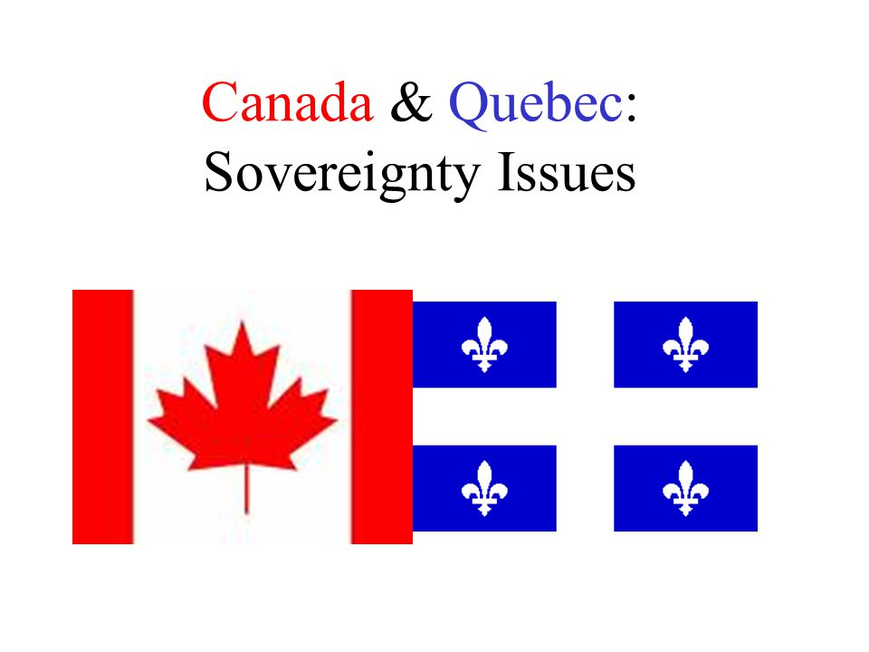 What more can Canada do to please some Quebecois? Will this issue ever be resolved?