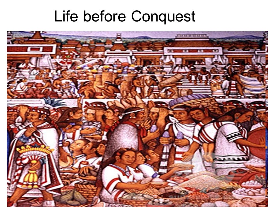 Life before Conquest