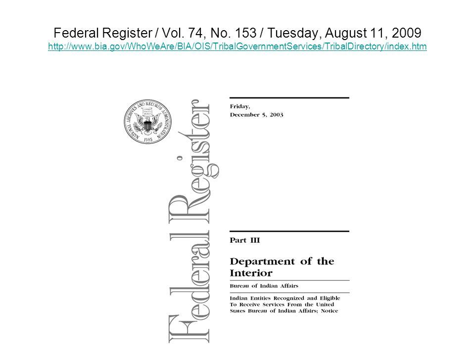 Federal Register / Vol. 74, No.