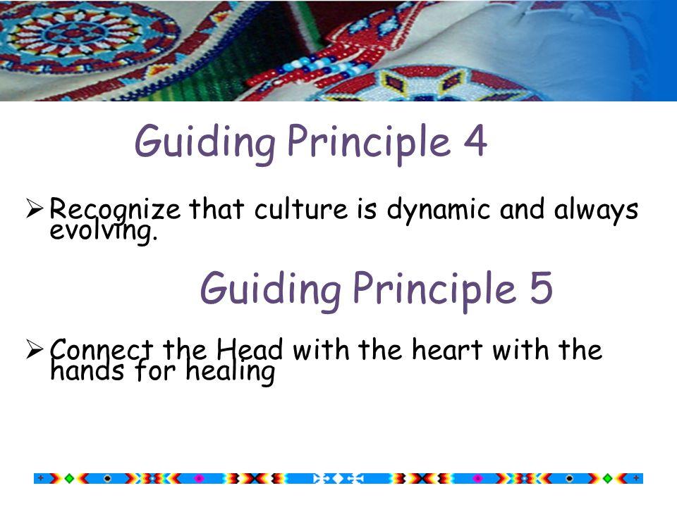 Guiding Principle 2  Focus on the tribal group(s) nearest the school.