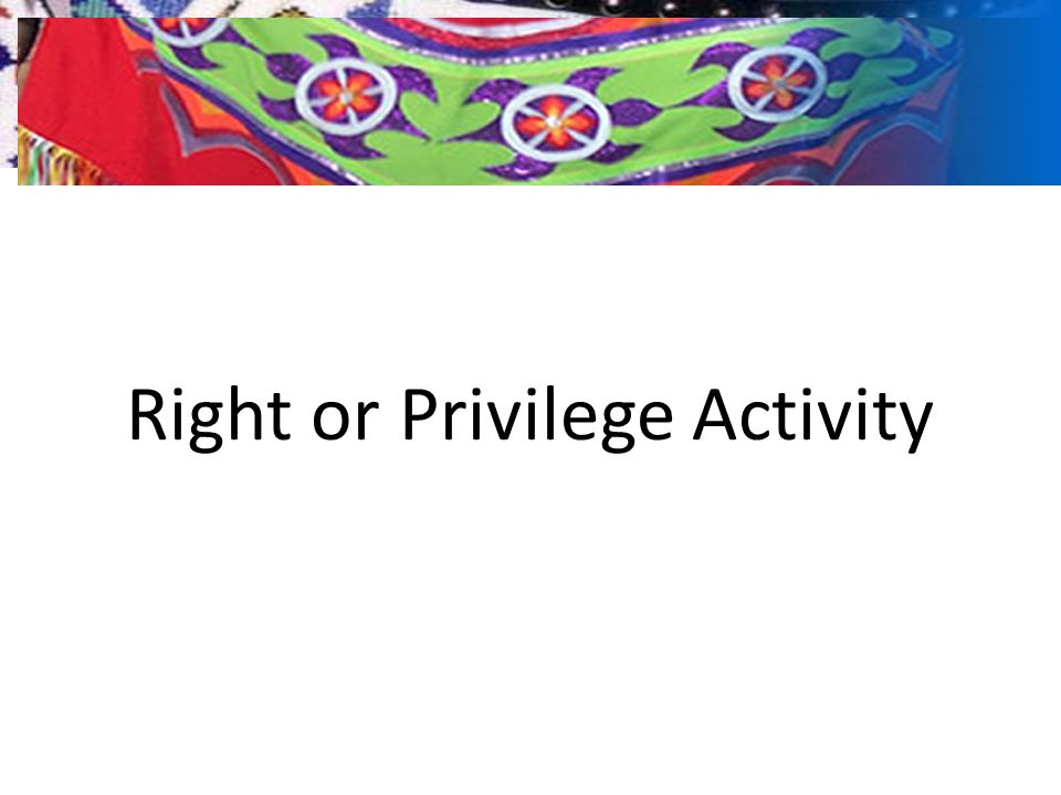 Common Misconception Tribal sovereignty means that.