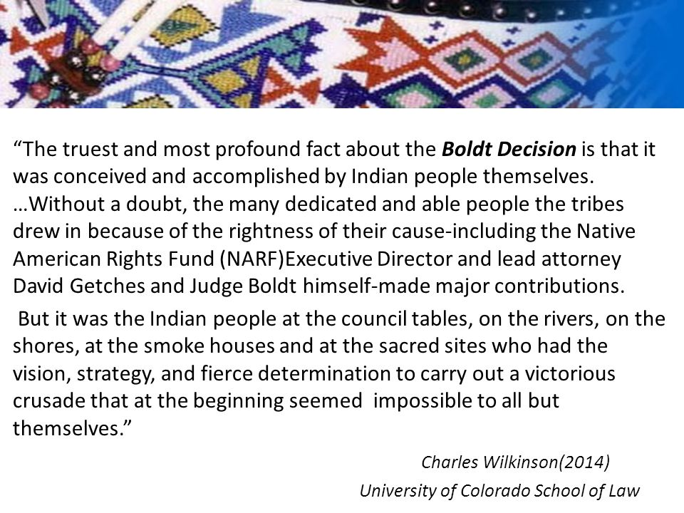 SHB 2080 (2014) Vacating Convictions for Certain Tribal Fishing Activities Every person convicted prior to January 1, 1975, of violating any statute or rule regarding the regulation of fishing activites…who claimed to be exercising a treaty Indian fishing right, may apply to the sentencing court for vacation of the applicant's record of the misdemeanor, gross misdemeanor, or felony conviction for the offense.