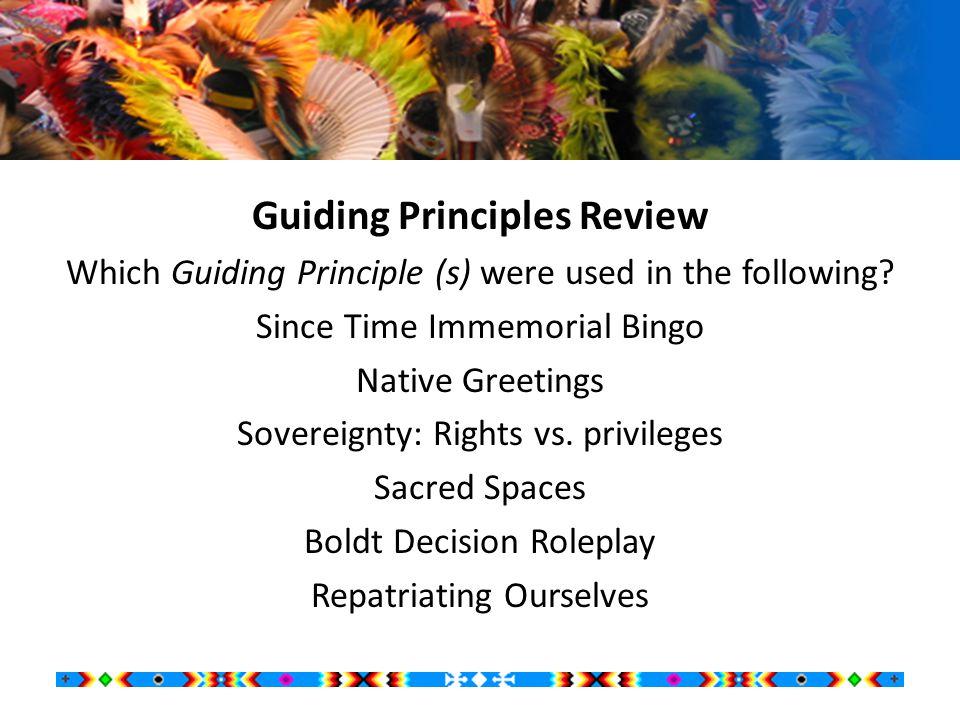New Tribal Sovereignty Lesson Plan Development  STI Big Five addressed.