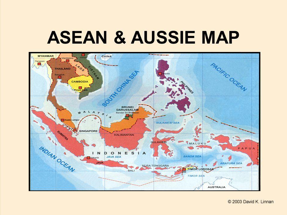 ASEAN & AUSSIE MAP