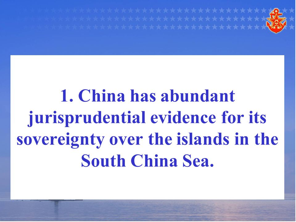   According to the international law, discovery and pre-emption means that a country can acquire the sovereignty over an unowned land through its first pre-emption.