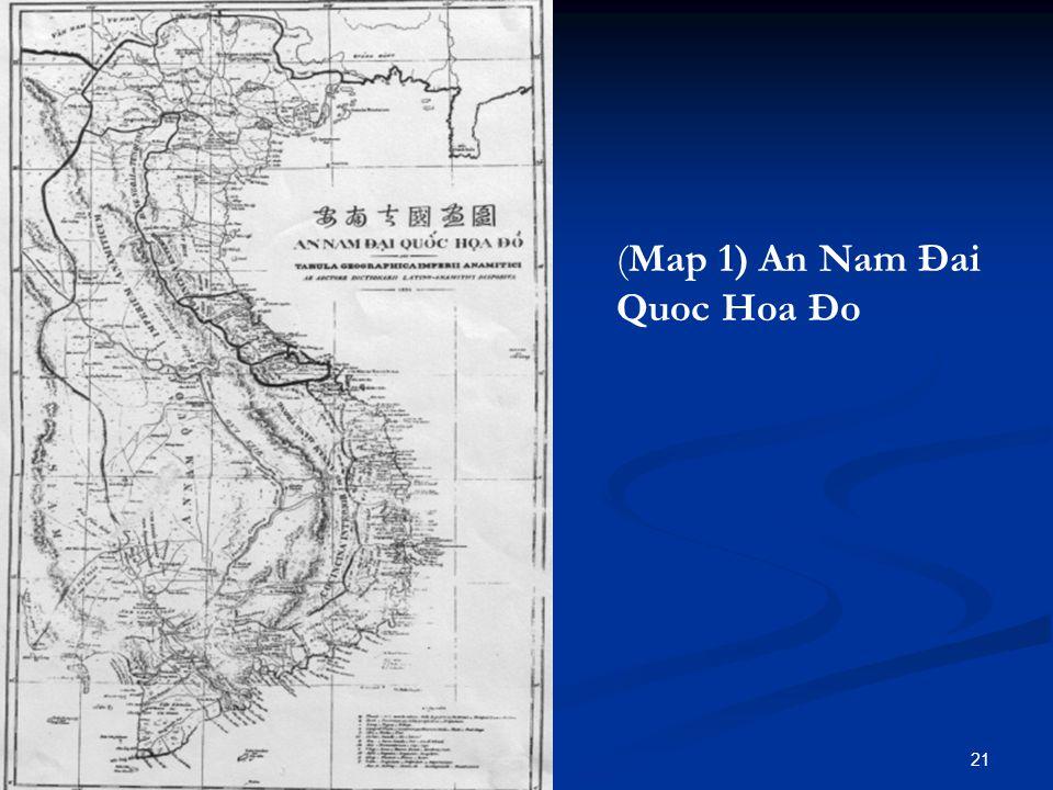 (Map 1) An Nam Đai Quoc Hoa Đo 21