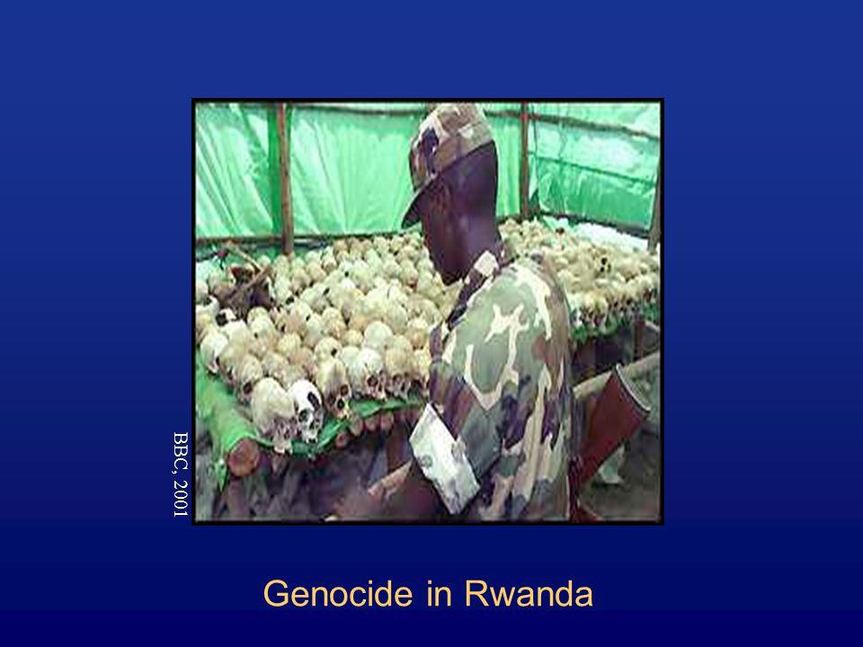 Genocide in Rwanda BBC, 2001