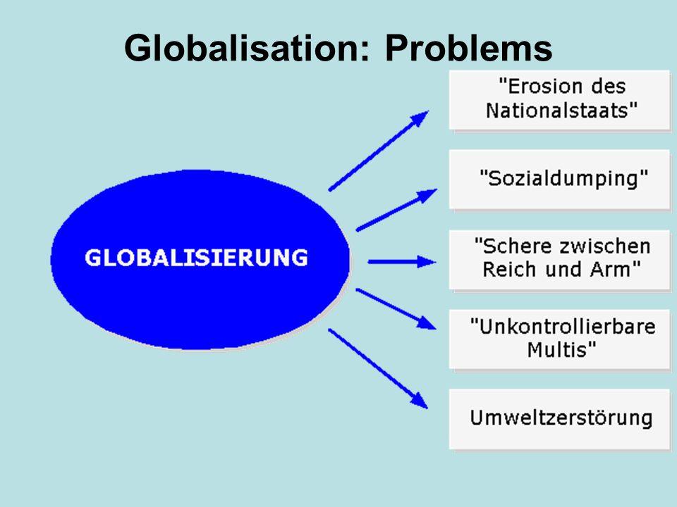 Globalisation: Problems