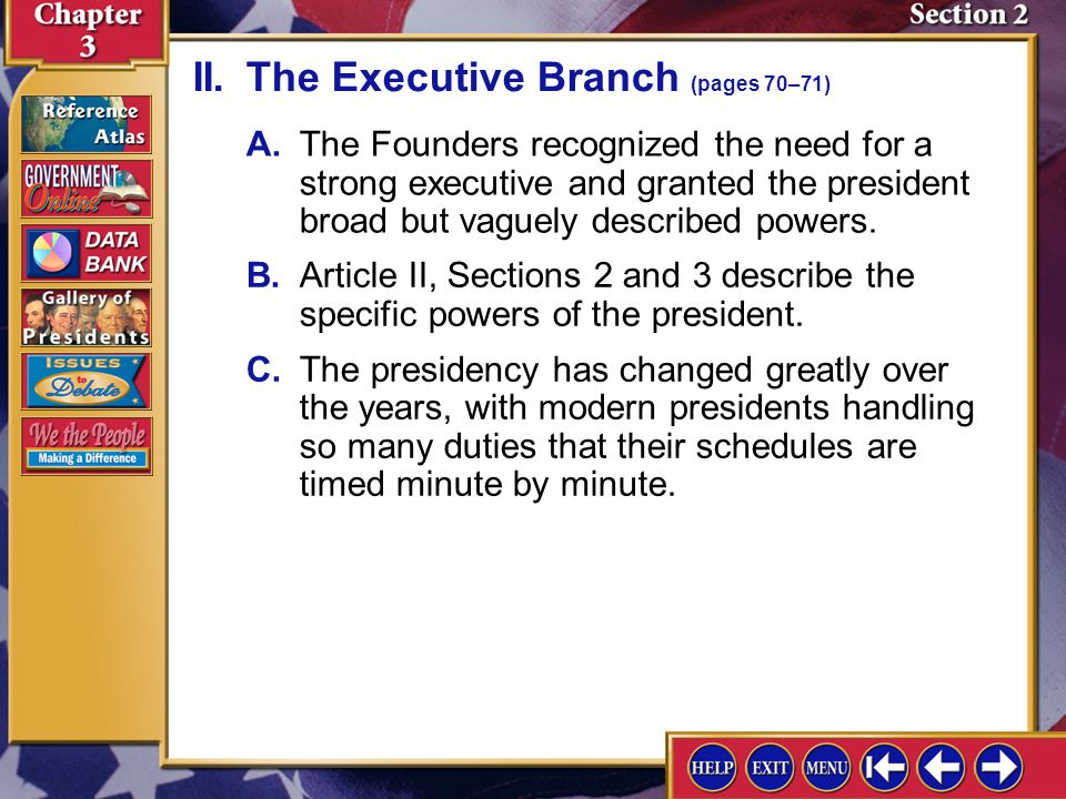 Section 2-3 How did the elastic clause of the Constitution support a loose interpretation of the Constitution.