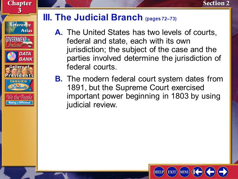 Section 2-5 II.The Executive Branch (pages 70–71) Why did the Founders establish a strong executive branch in the government? Lack of a strong executi