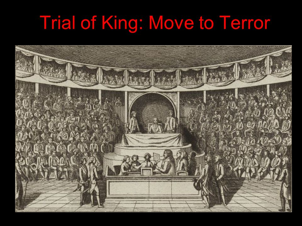 Trial of King: Move to Terror