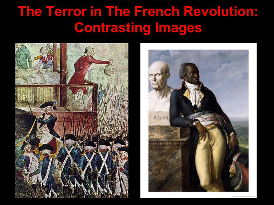 the french revolution and the terror essay The immediate bloody aftermath , was a product of social, economic, and political forces the spirit of idealism that gripped france during the early phases of the revolution gave way to mass paranoia and extremism, culminating in robespierre's cruel regime.
