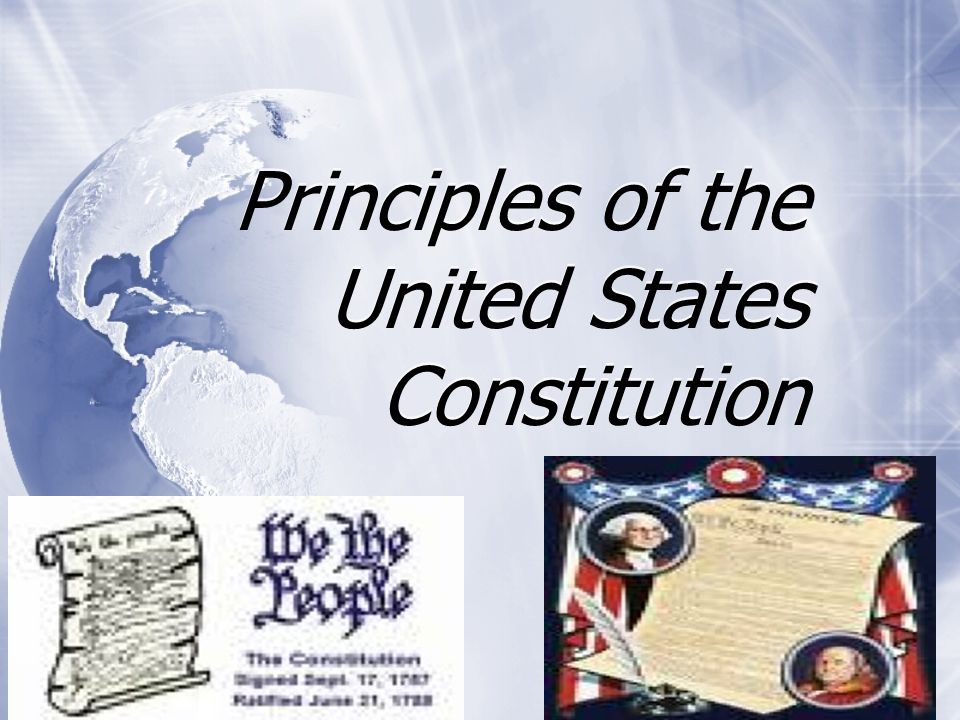 Popular Sovereignty Continued  The Constitution states that the people will elect representatives.
