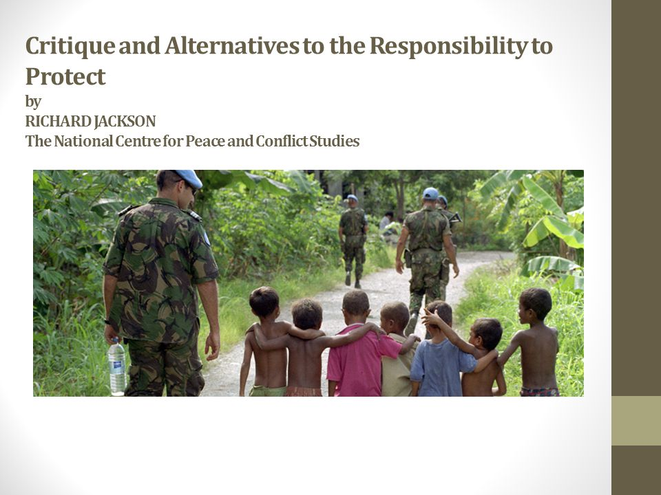 What is R2P.