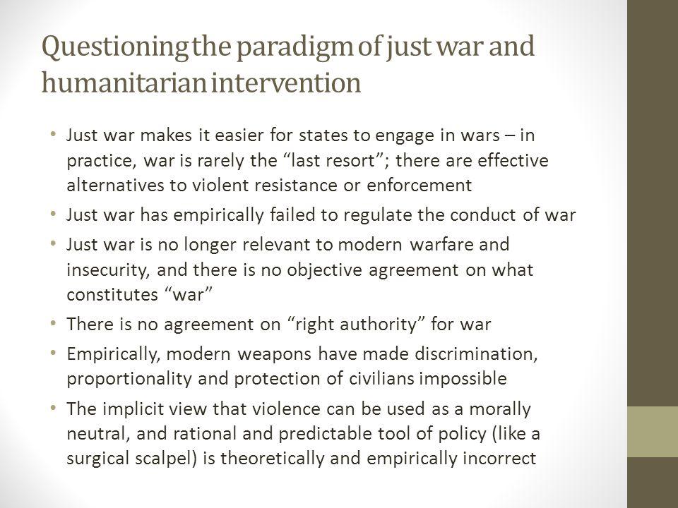 Alternatives to R2P.
