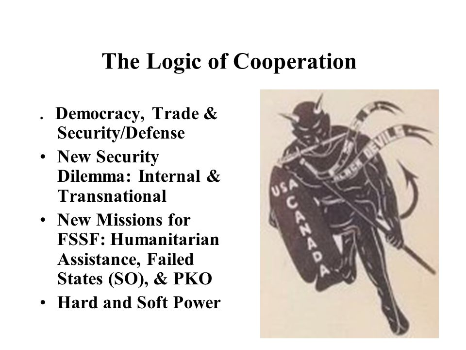 The Logic of Cooperation.