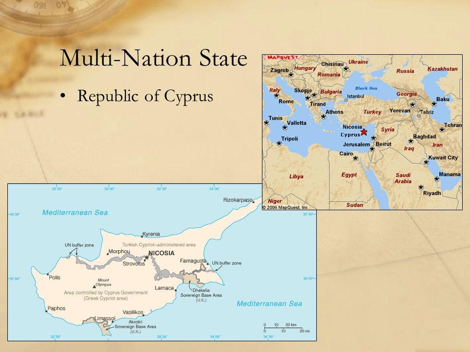 Multi-Nation State Republic of Cyprus
