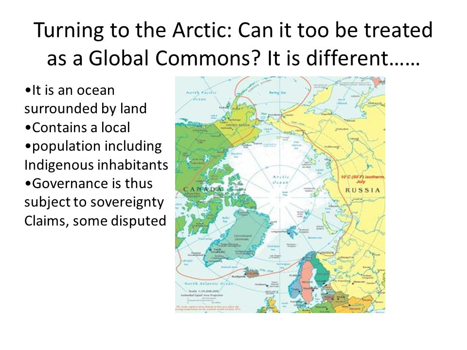 Turning to the Arctic: Can it too be treated as a Global Commons.