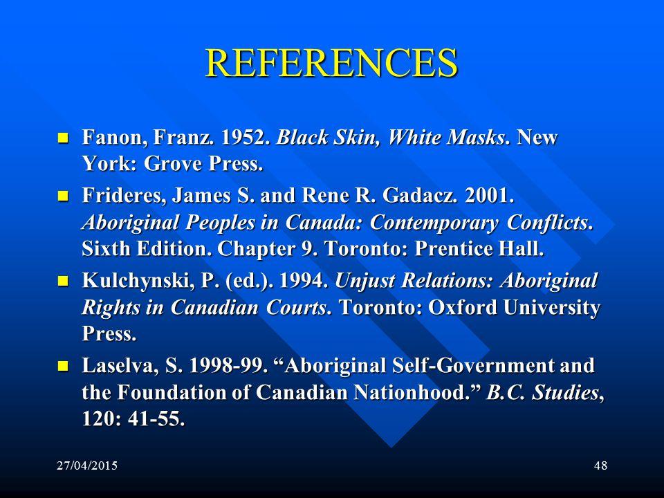 27/04/201547 REFERENCES Adu-Febiri, Francis. 1998.
