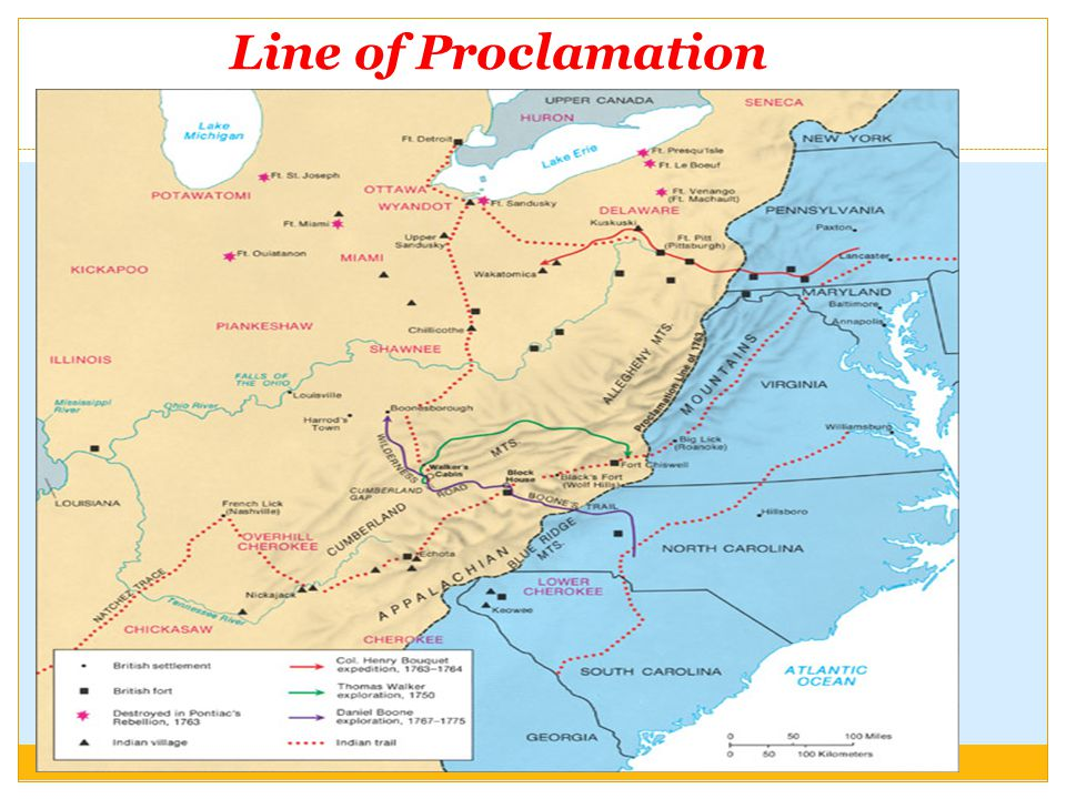 Line of Proclamation