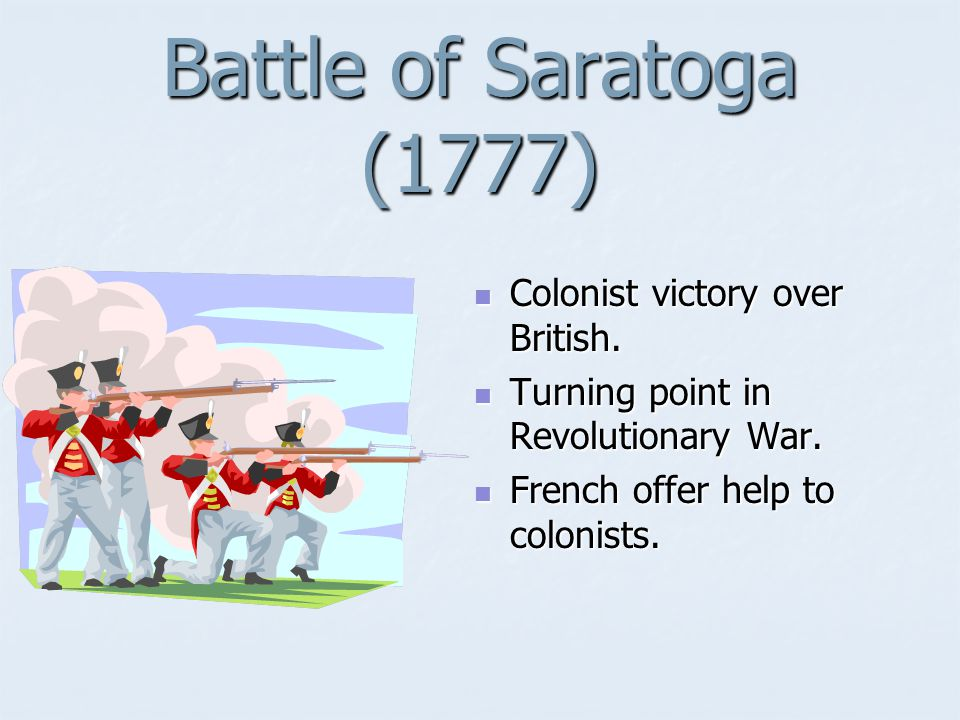 Lexington and Concord (1775) Battles that started the American Revolution.