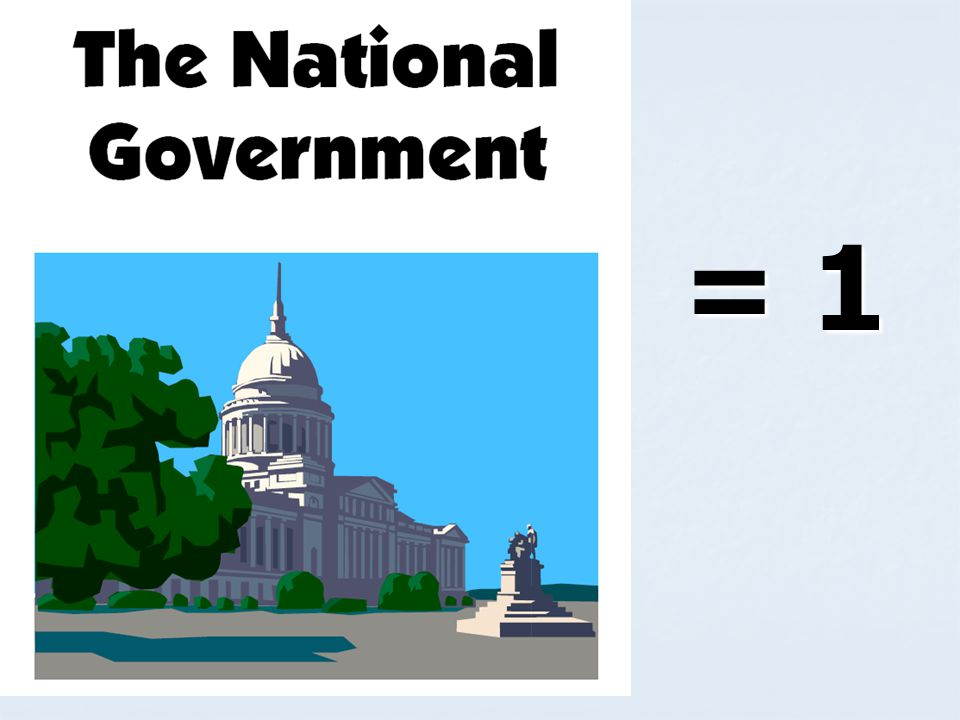 Federalism Distribution of the powers of government between a central (federal) government and the regional (states) governments.