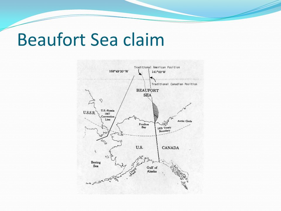 Beaufort Sea claim