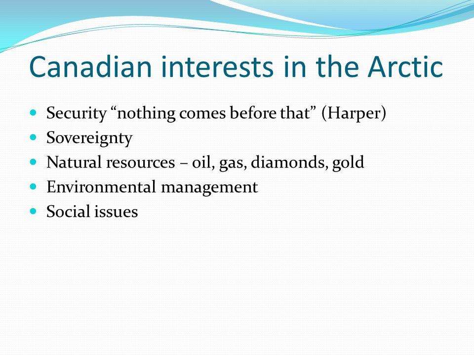 Arctic Sovereignty Northwest passage Beaufort Sea Hans Island Continental shelf claims