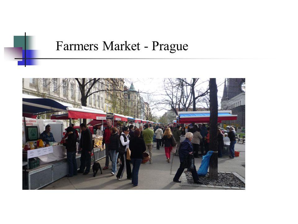 Farmers Market - Prague