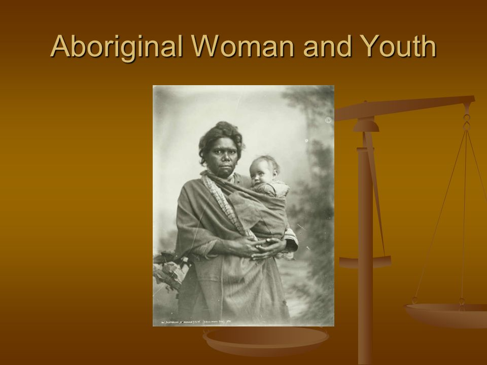 Aboriginal Woman and Youth