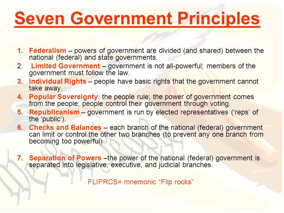 Seven Principles Of Government Worksheet Answers | Worksheet Resume