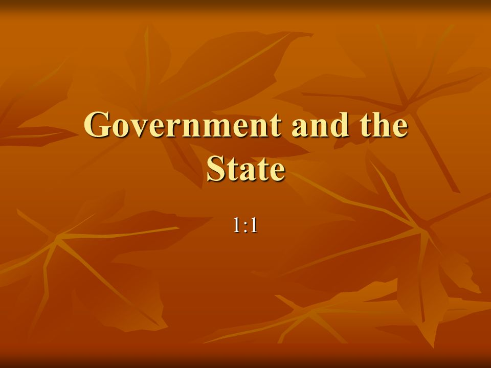 How Is Government Involved In Your Life.Is Government involved in your life.