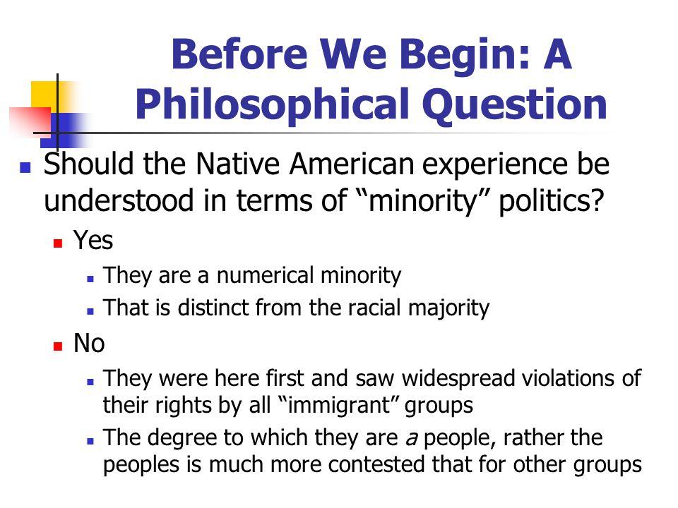 U.S.Policies Toward Native Americans 1. Sovereignty (1700s – 1830s) Treaties between the U.S.