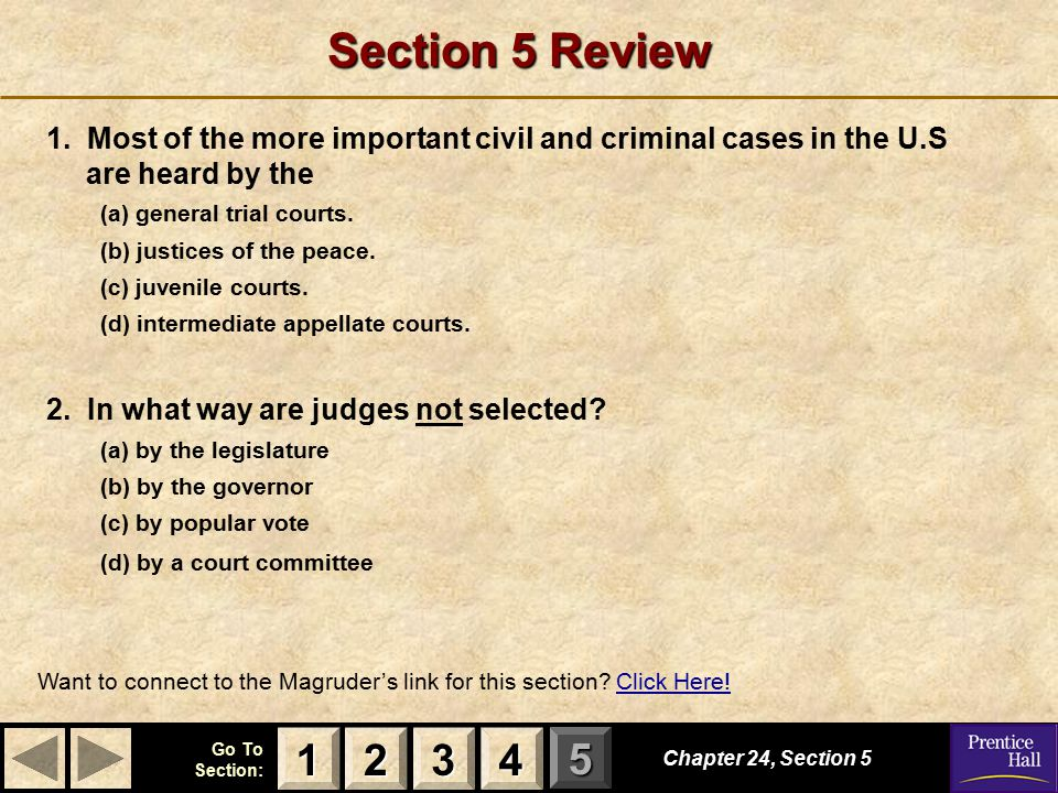 123 Go To Section: 4 5 Section 5 Review 1.