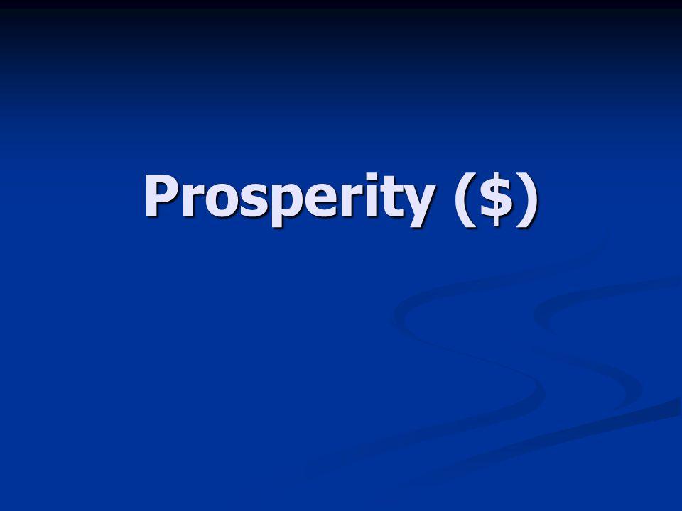 Prosperity ($)