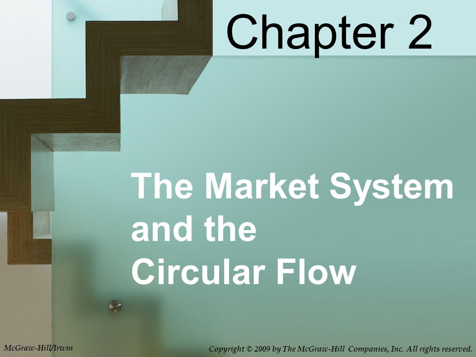The Market System and the Circular Flow Chapter 2 McGraw-Hill/Irwin Copyright © 2009 by The McGraw-Hill Companies, Inc. All rights reserved.
