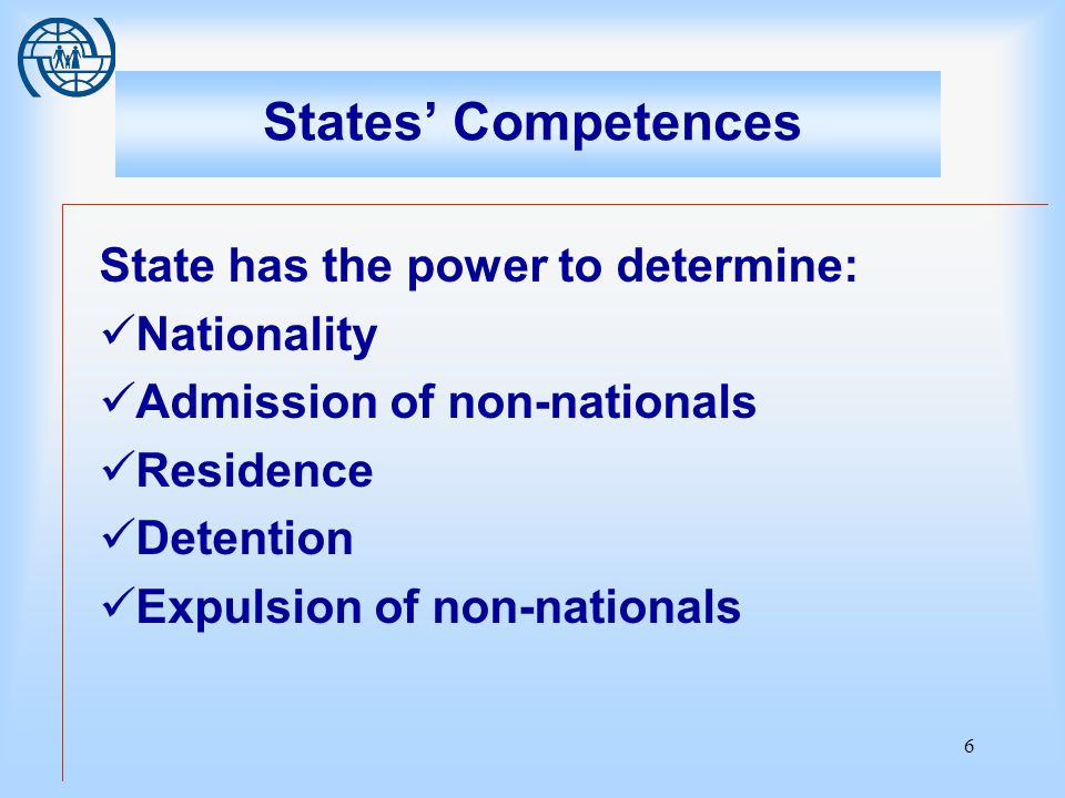 7 Nationality Nationality is a juridical and political link that unites an individual with the state It is for each state to determine under its own laws who are its nationals (1930 Hague Convention) Contracting states shall as far as possible facilitate the assimilation and naturalization of refugees (1951 Geneva Convention) Convention on the Reduction of Statelessness required bestowal of citizenship under certain conditions when the person would otherwise be left stateless.