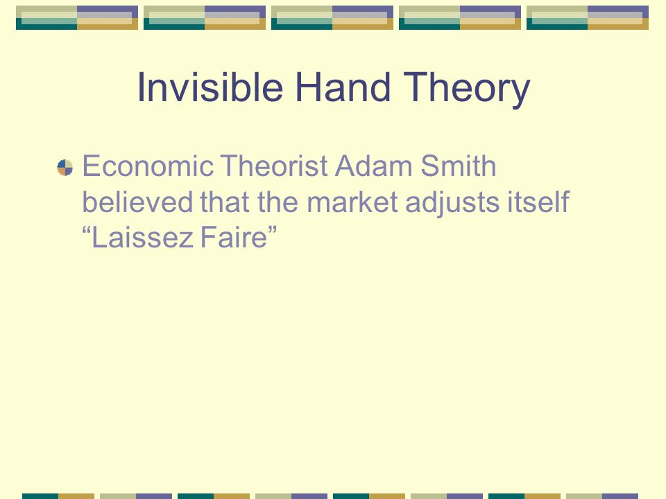 invisibe hand theory The visible hand: the managerial revolution in american business is a book by american adam smith's famous invisible hand of the market was supplanted by the.