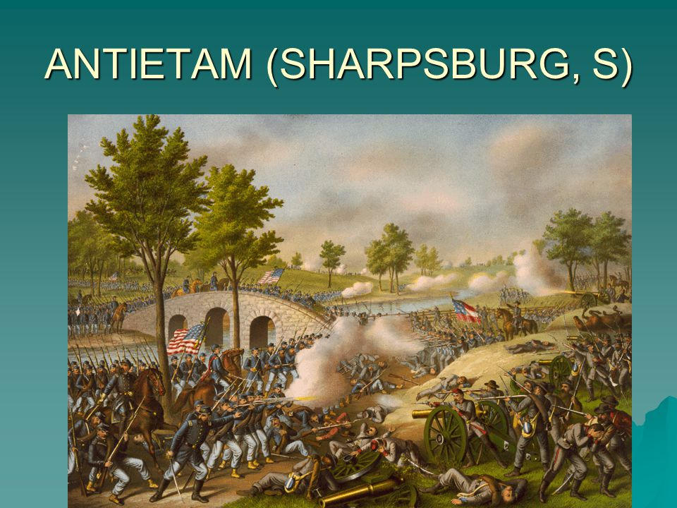 ANTIETAM (SHARPSBURG, S)