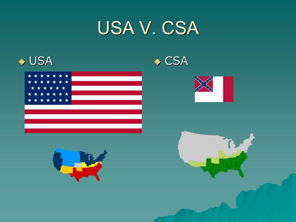 USA V. CSA  USA  CSA