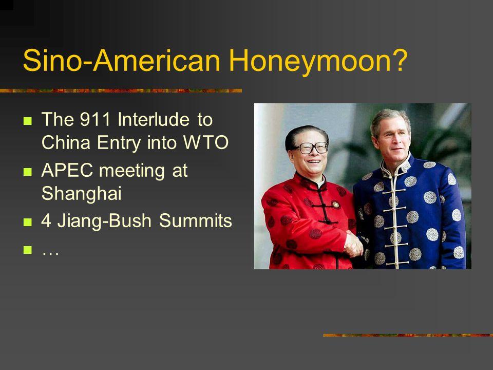 Sino-American Honeymoon.