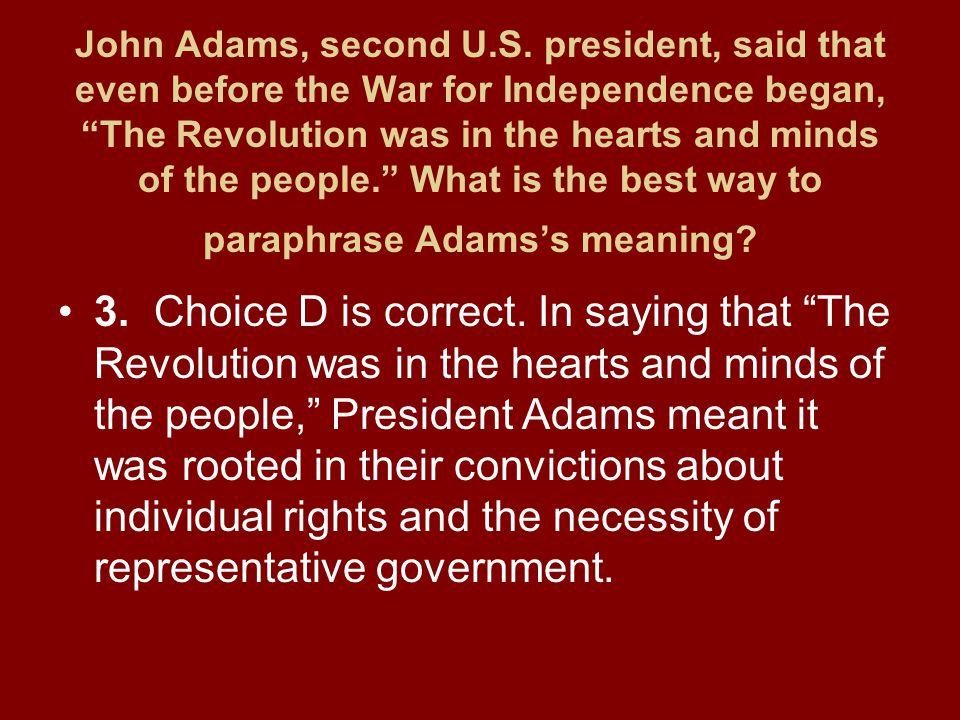 John Adams, second U.S.