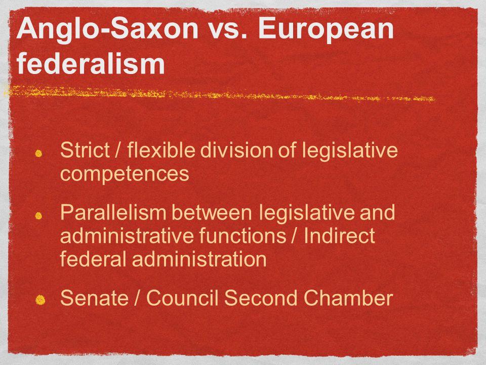 Anglo-Saxon vs.