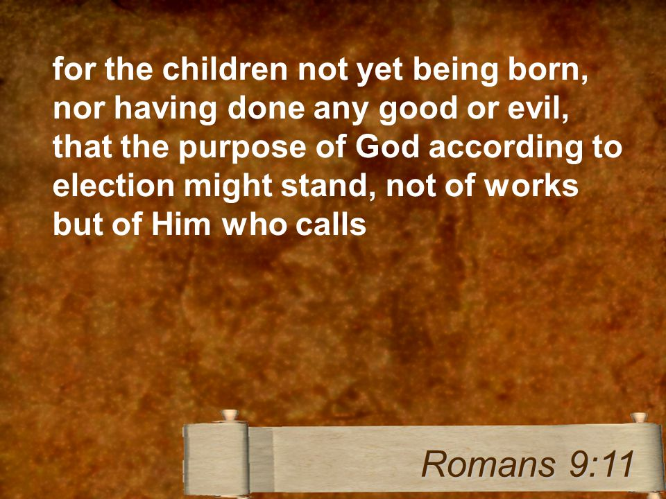 Sovereignty of God - Calvinism Chosen, Elect Predestined Responsibility of Man - Arminianism Choice, available to all, belief Eternal Security Growth Salvation How?