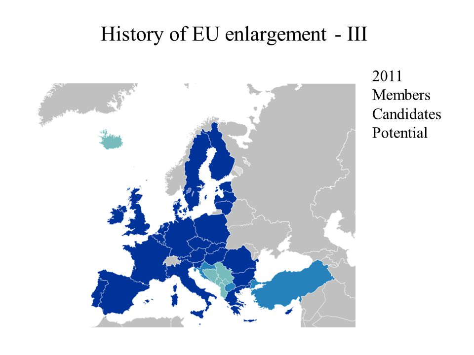 Costs and benefits for EU - II Political benefits Prospects of membership consistently improve democratic indicators in candidates.