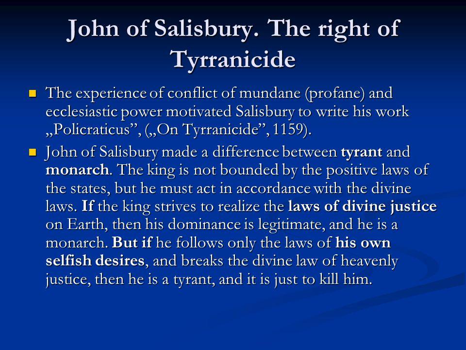 John of Salisbury.